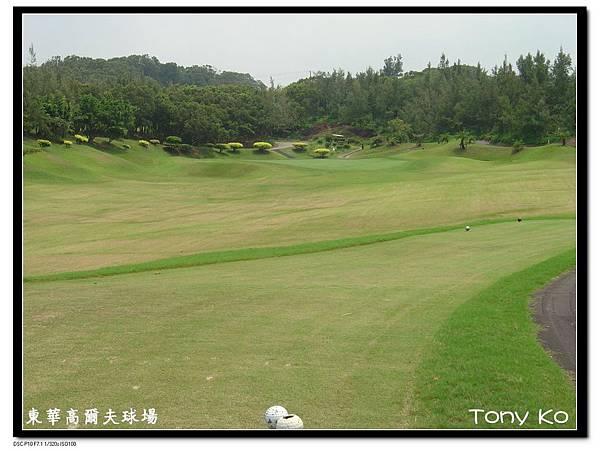 東華高爾夫球場 OUT 第3洞 PAR3 167碼  難度15.JPG