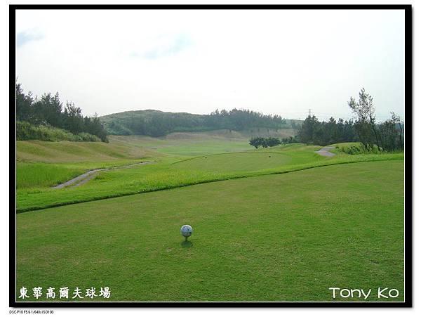 東華高爾夫球場 IN 第17洞 PAR5 531碼  難度18 .JPG