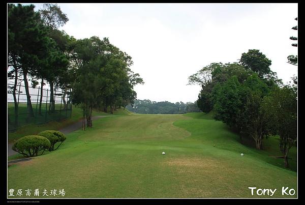 豐原高爾夫球場  IN  第1洞  PAR5  500碼 .JPG