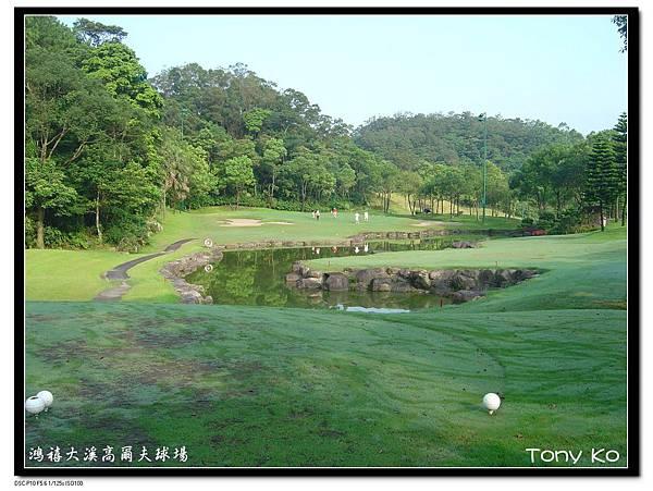 大溪高爾夫俱樂部-西區(畫眉區) 第3洞  PAR3   135碼  難度-8.JPG