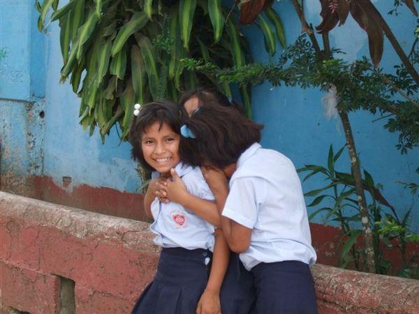 Elementary school girl @ Puerto Maldonado