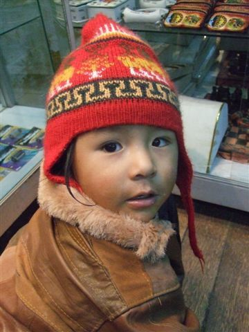 Peruvian kid @ Cuzco