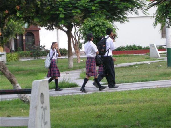 High school student @ Lima