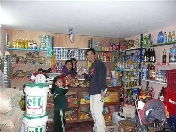 A grocery store @ Ollantaytambo