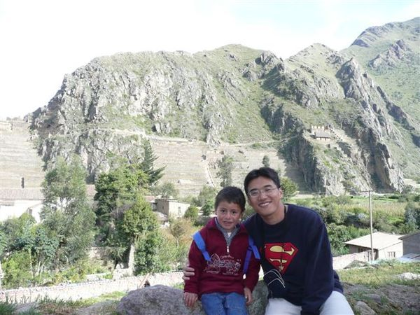 A friendly kid @ Ollantaytambo