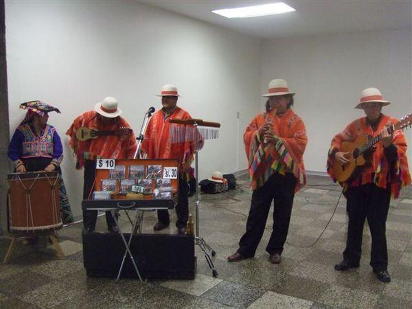 Peruvian band @ Cuzco airport