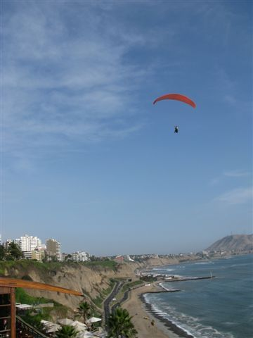 Miraflores beach at Lima
