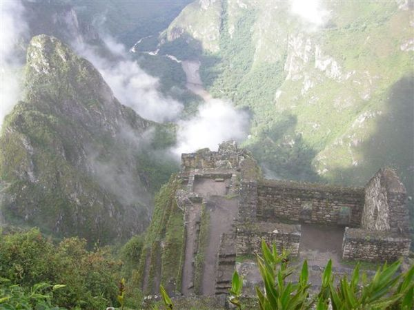 Machu Picchu and Valley