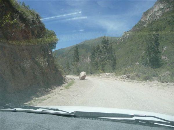 On the way to Ollantaytambo