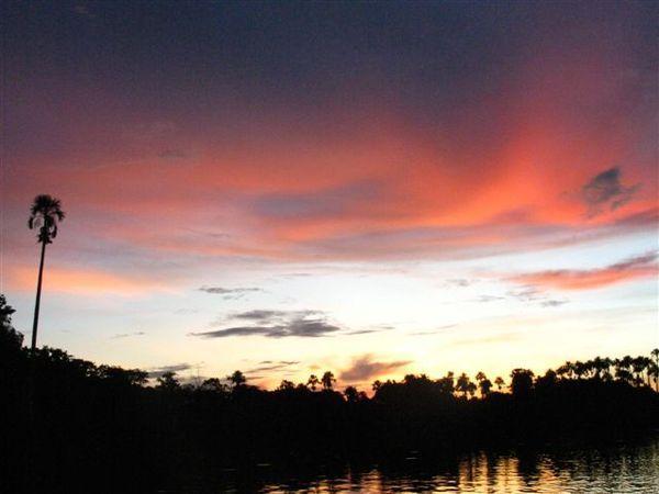 Sunset at Sandoval Lake