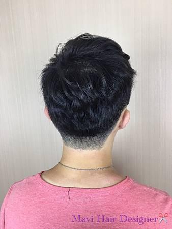 台北車站/Mavi Hair Designers/男士髮型/燙髮/蓬鬆度捲髮