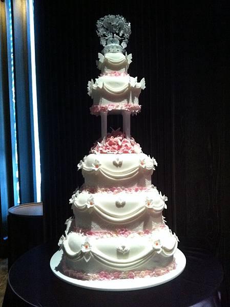 粉色裝飾用蛋糕