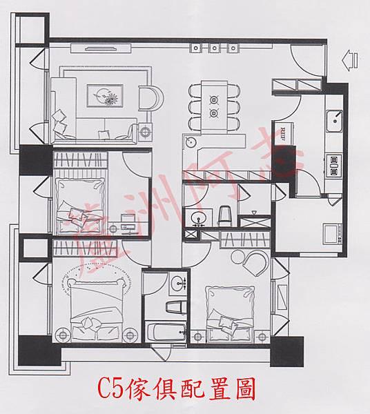 C5傢具配置圖
