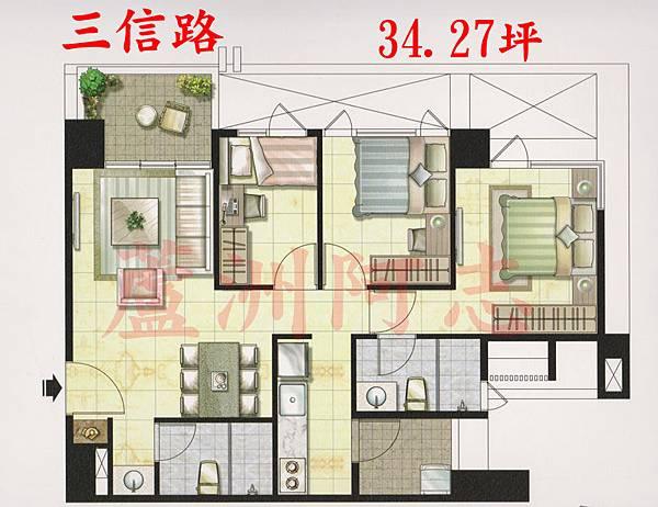 京湛A1家具配置圖