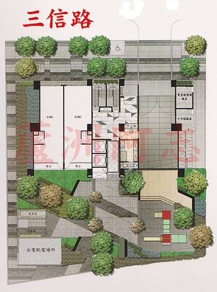 京湛一樓配置圖