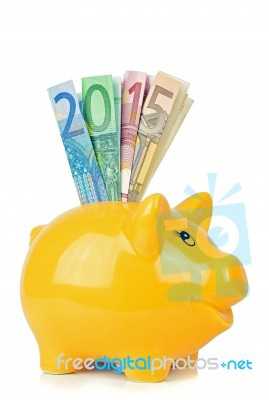 piggy-bank-with-euro-banknotes-100308430