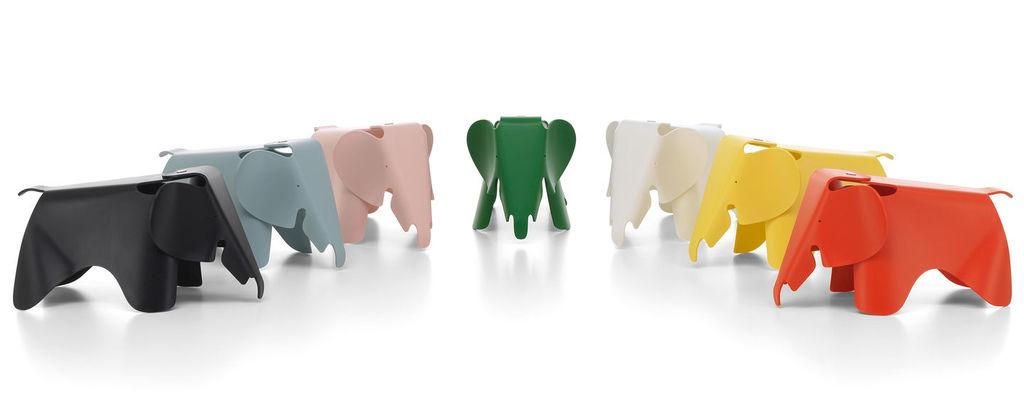 Eames Elephant 寬:20.5cm 高:21cm 長:39 cm