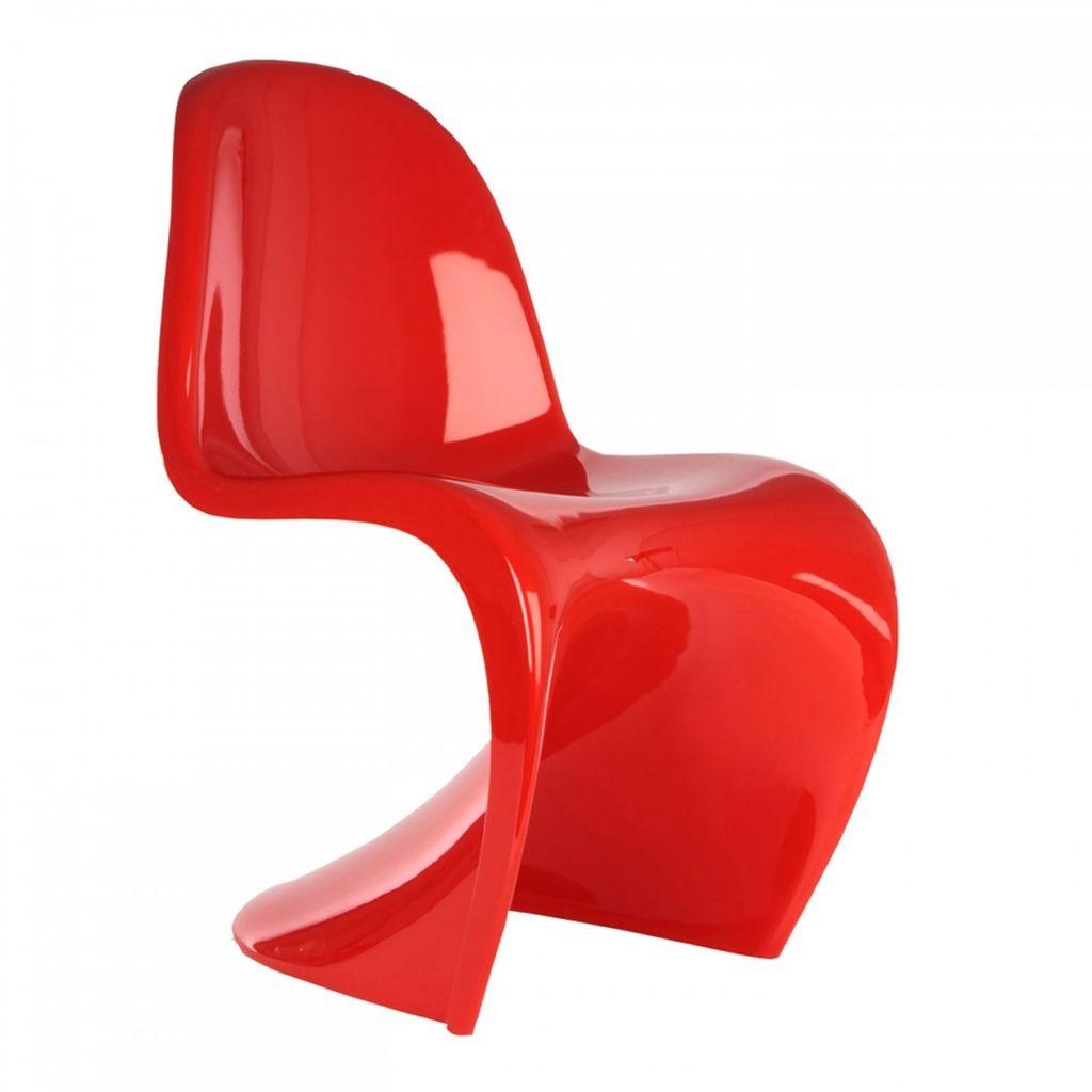 Panton Chair Classic 椅總高: 50cm 椅深: 45.5cm 椅角高:41.5cm