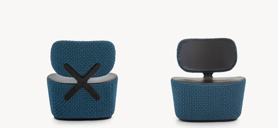 X chair設計師Hutten 椅高:75cm 椅長:65cm 椅座長: 50cm椅寬:72cm