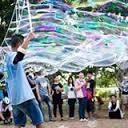泡泡奇蹟 泡泡表演-泡泡雲