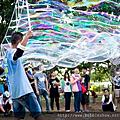 泡泡奇蹟的泡泡表演 泡泡雲