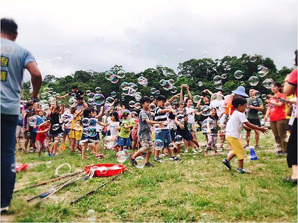 無限歡樂泡泡派對活動表演-泡泡雨