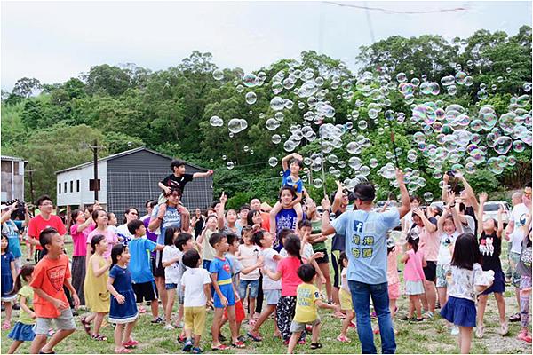 2019拍片場露營區泡泡派對活動