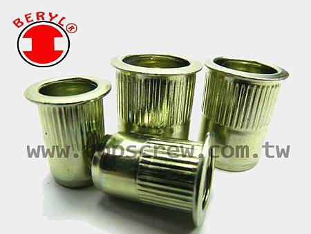 M5 Aluminium Rivnuts multi-thread aveugle rivet Nuts Open End Nuts Insert NUTSERT