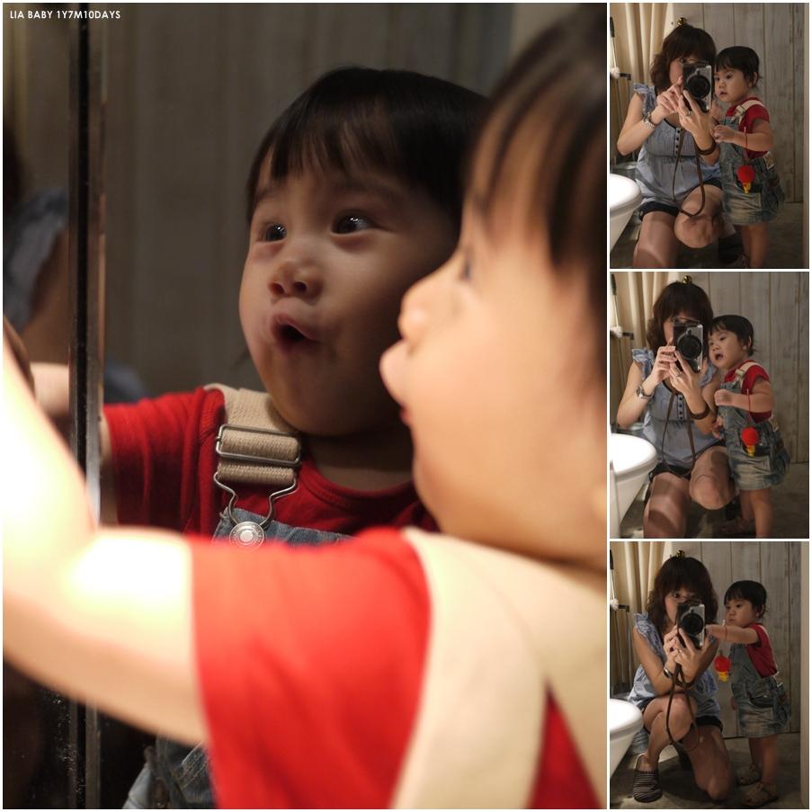 愛照鏡子。愛漂亮