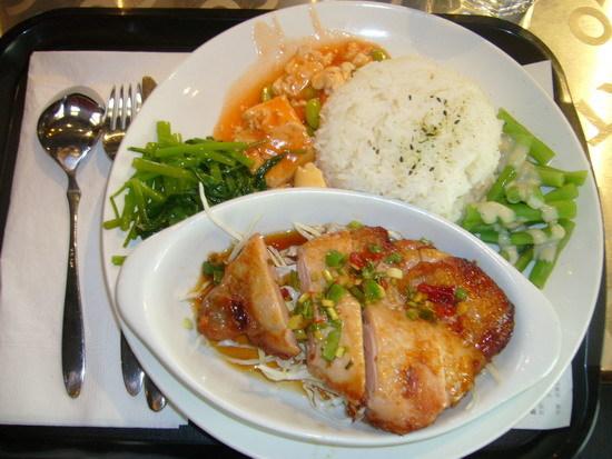 椒痲雞套餐