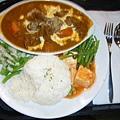 印度咖哩豬肉套餐