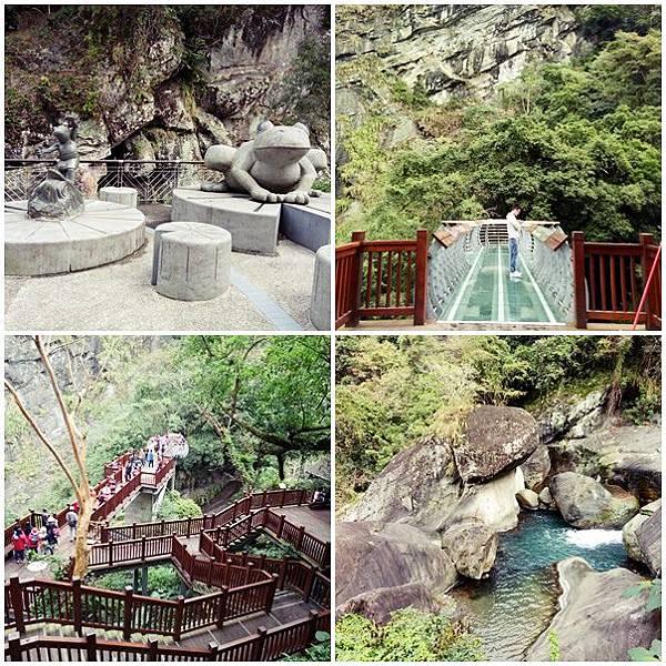 |新竹尖石| 約會在夢幻森林棧道與空中玻璃橋。青蛙石步道園區