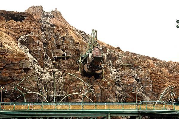 日本迪士尼神秘島造景