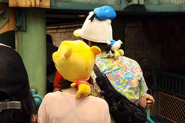 迪士尼造型帽子