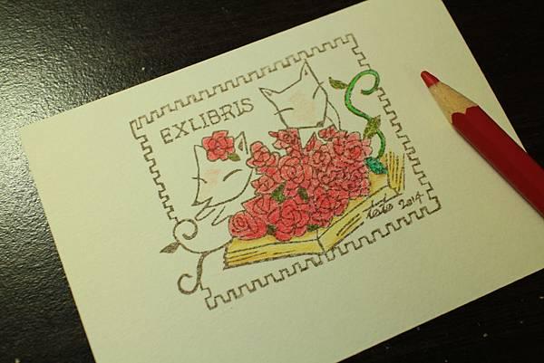 藏書章-狐狸與玫瑰
