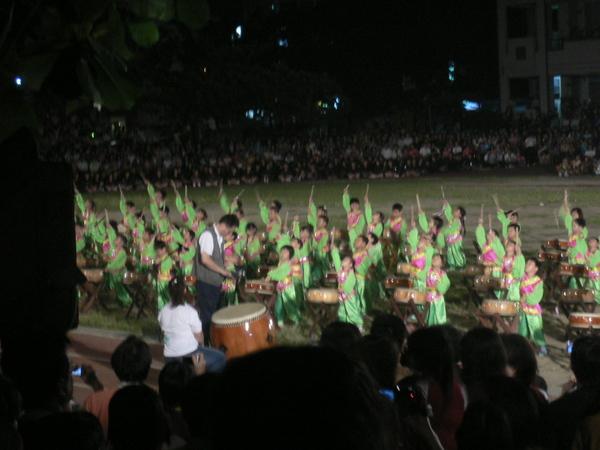 幼稚班-和太鼓表演