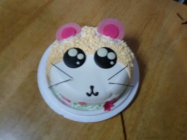 哈姆太郞造型蛋糕
