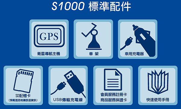 Gonav S1000標準配件表表.jpg