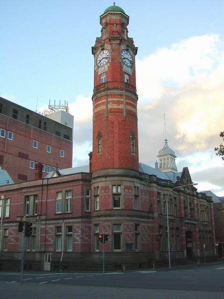 Launceston 鎮上的郵局