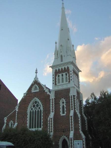 Launceston 鎮上的教堂