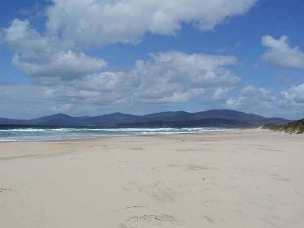 Bruny Island 的沙灘