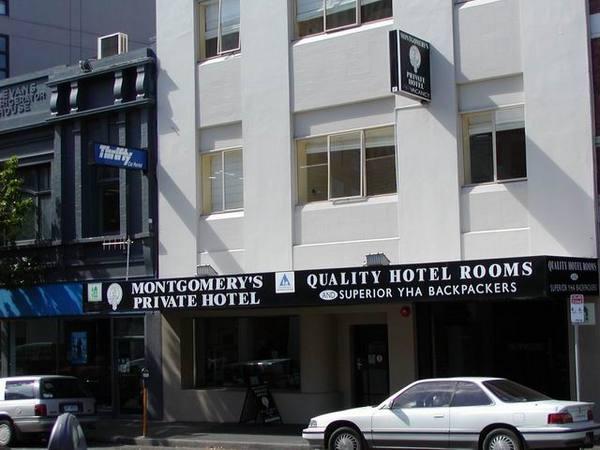 我在 Hobart 住的青年旅館