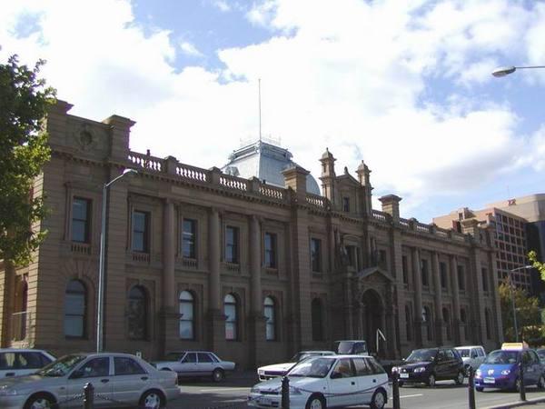Hobart 街上的建築物