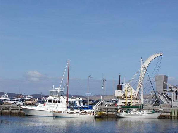 Hobart 的小港口