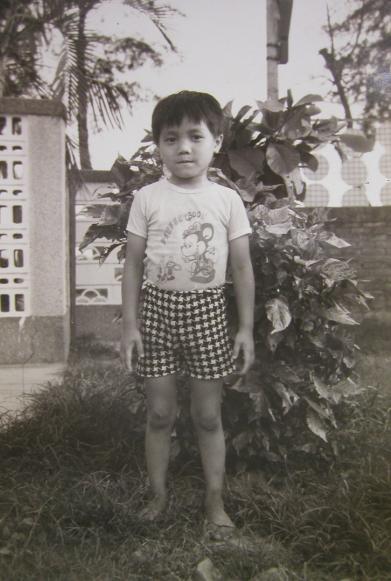 五歲的我,可愛吧!