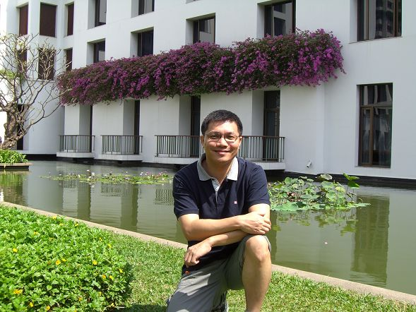 Sukhothai 飯店的中庭花園