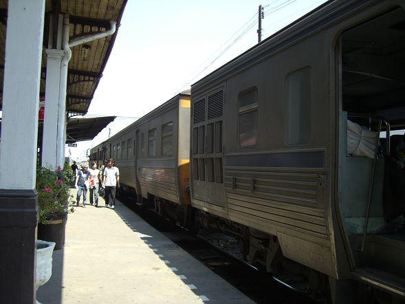 Hualamphong 車站的月台