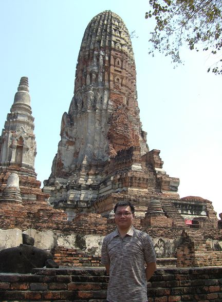 Wat Phra Ram 的遺跡