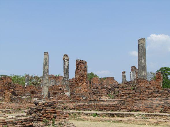 Wat Phra Si Sanphet 的遺跡