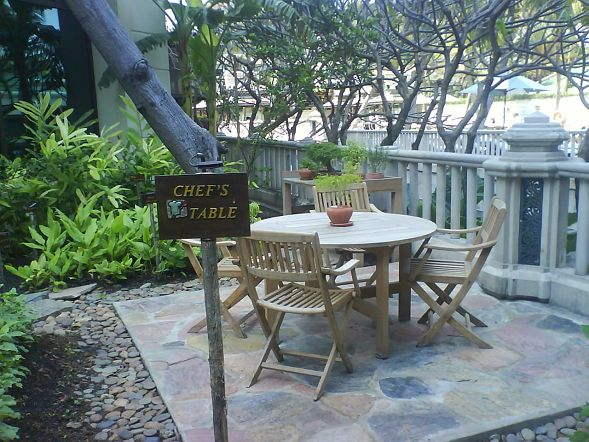 半島酒店的花園